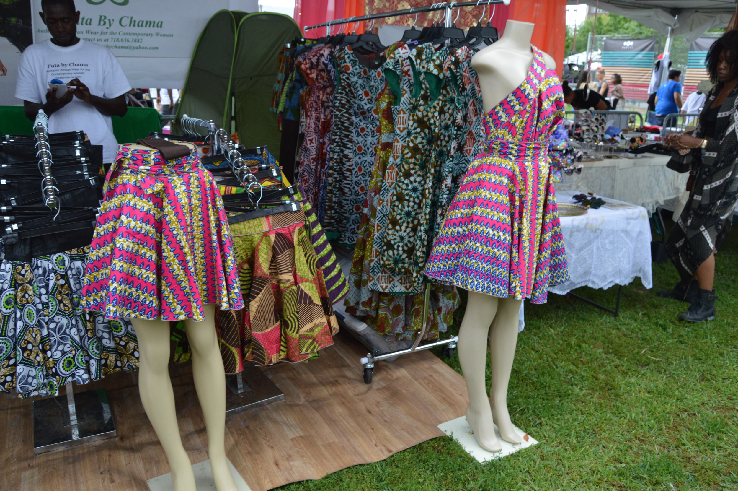 Beautiful skirts on sale from Afropunk