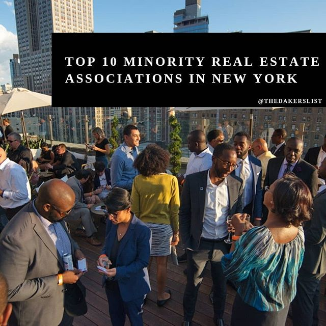 Check out @thedakerslist for the top 10 minority real estate associations in New York! ... #realestate #minority #professionals #nyc #networking #nycrealestate #blog #womeninrealestate #blackwealth #blacktech #realestateinvestor