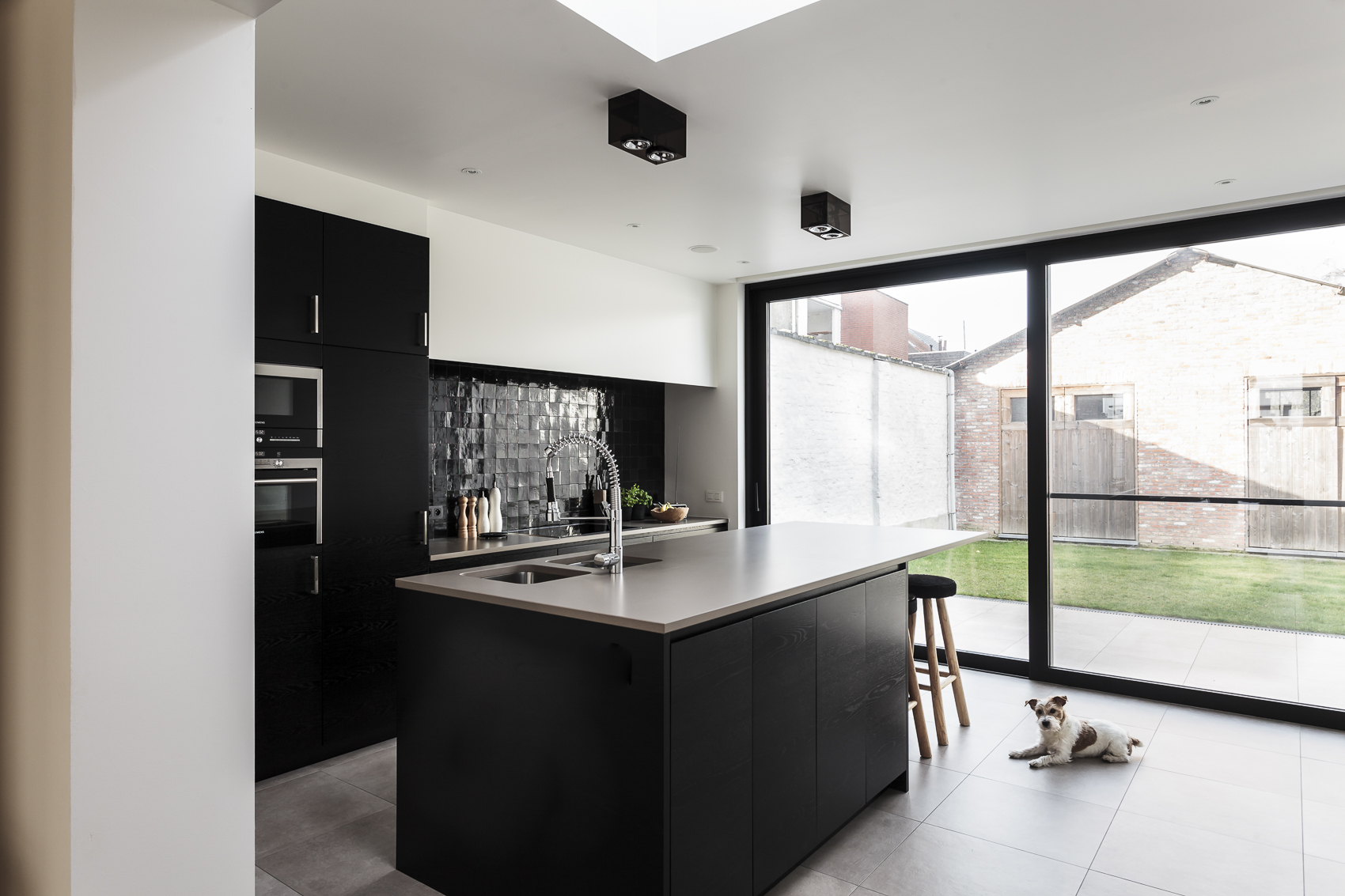 S Architecten kitchen.