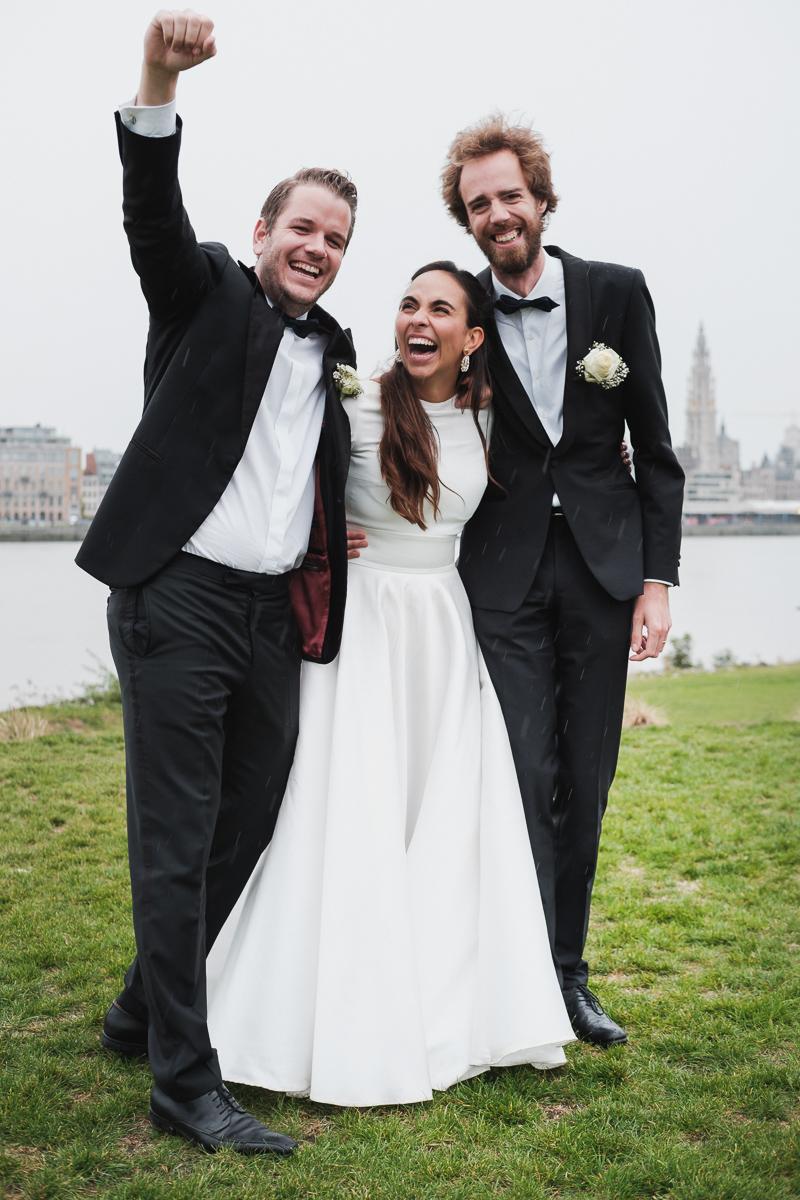 iso800 huwelijksfotograaf familiefoto's Ina & Joris Linkeroever