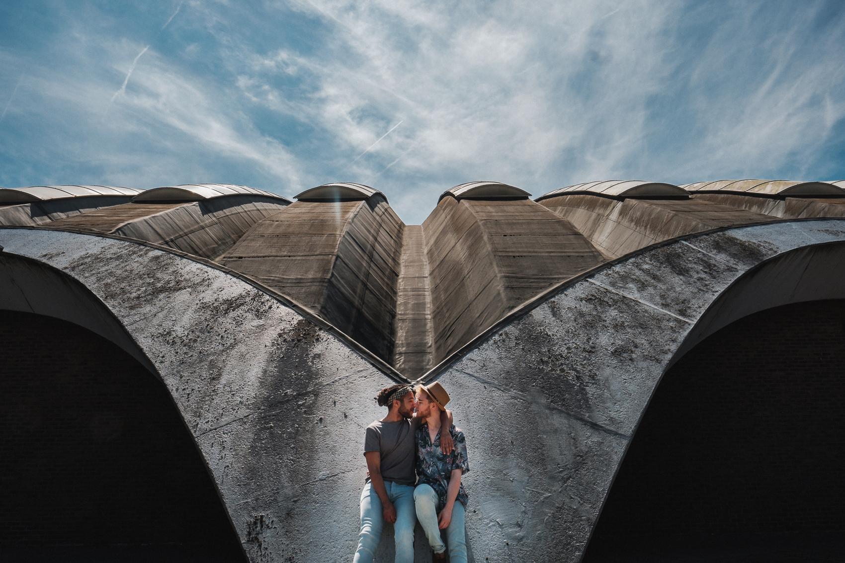 Love, love, love... #fuji #fujixt2 #groom #samesex #samesexwedding #wedding #weddingday #weddingphoto #weddingphotography #weddingphotographer #weddingstyle #iso800 #love #hugs #kisses #mywed #bluesky #blueskies #fearless #photoshoot #instawed #instalove #instalike #instagood #picoftheday #architecture