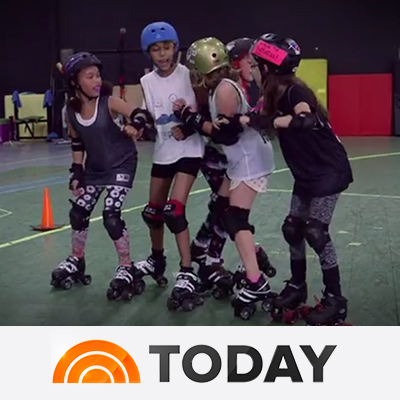 Meet the feisty, fearless girls of junior roller derby