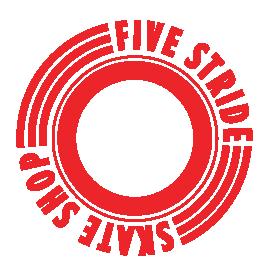 Five Stride Skate Shop logo