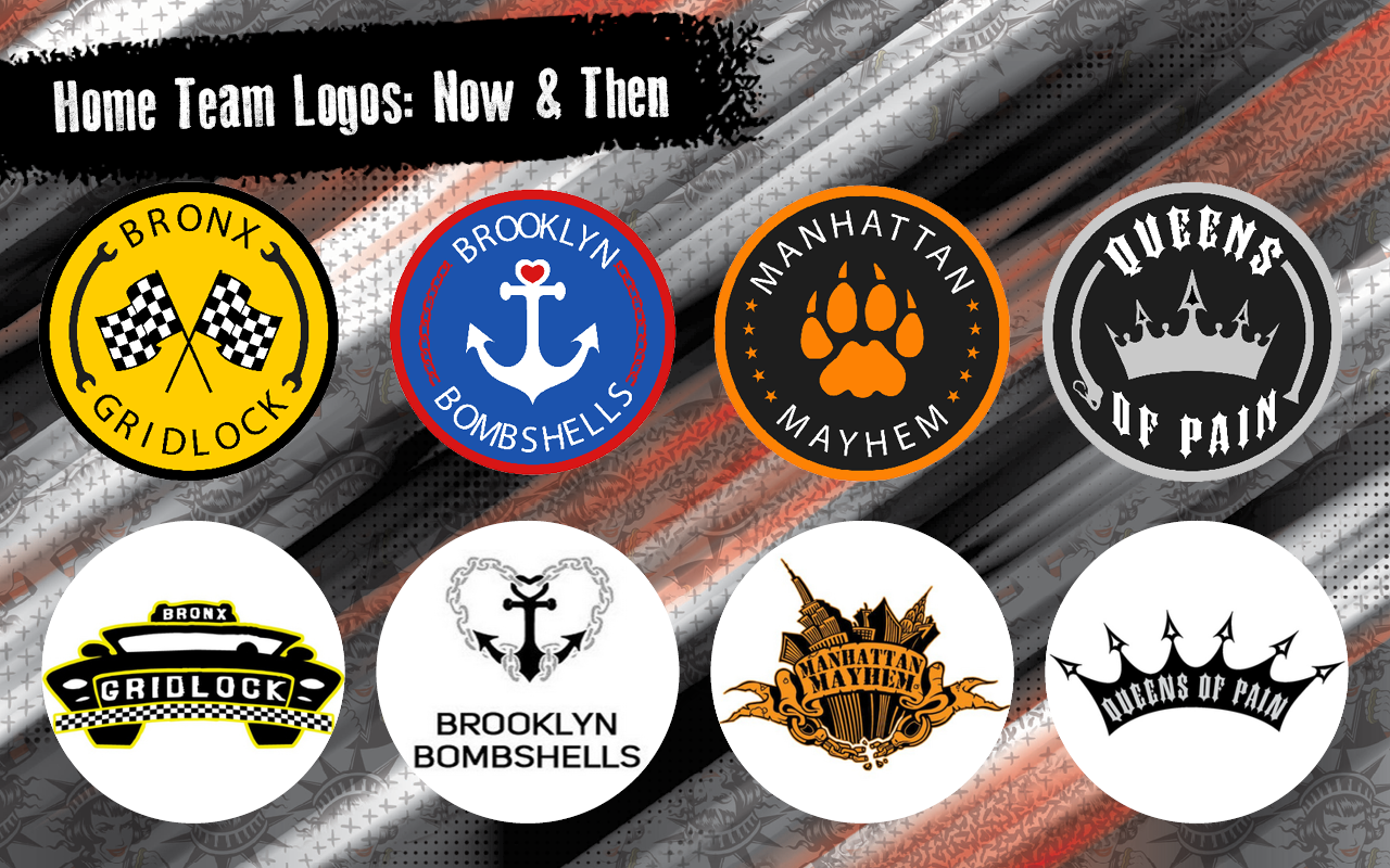Home Team Logos: Now and Then