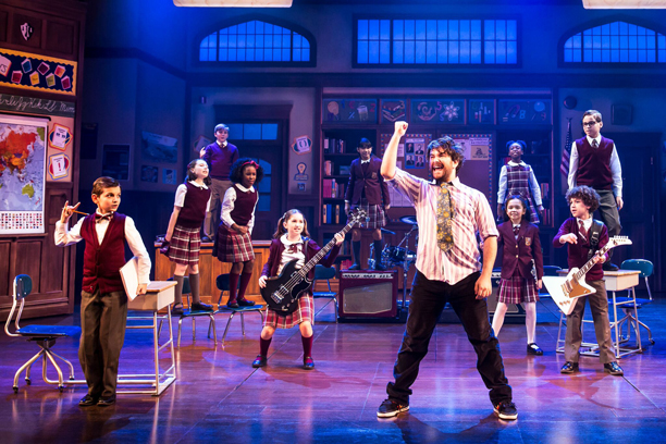 Broadway production of School of Rock! (Photo by Matthew Murphy)