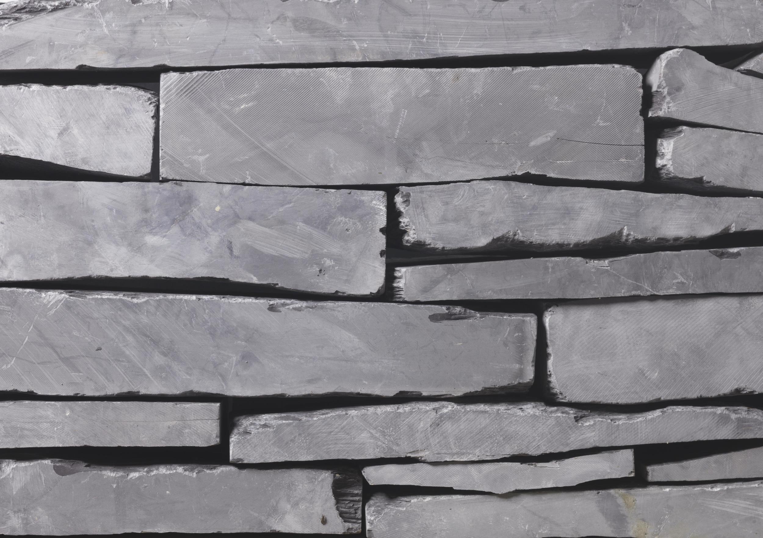 Cut Slate Walling