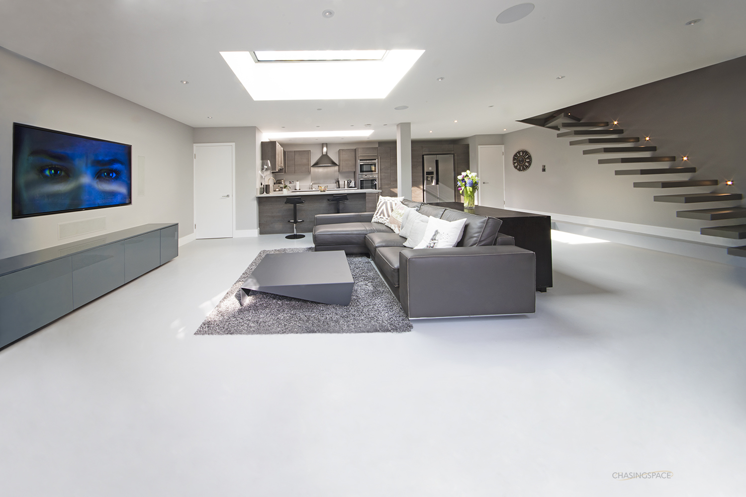 Chasingspace Resin Floors Polished Concrete Walls
