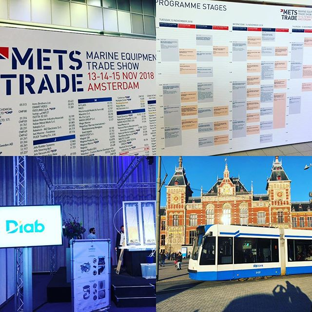 Had a very busy resourceful few days at the METS trade show.  So inspiring to see some of the amazing Companies and their Products /materials on exhibition. Everyone in the Marine Industry is usually attending making a great opportunity to negotiate potential deals .🤝 This year has been important for i3 with various meetings with designers /Companies for our up coming winter Refit projects.  We have a very important/busy period the remainder of 2018 and well into the new year!