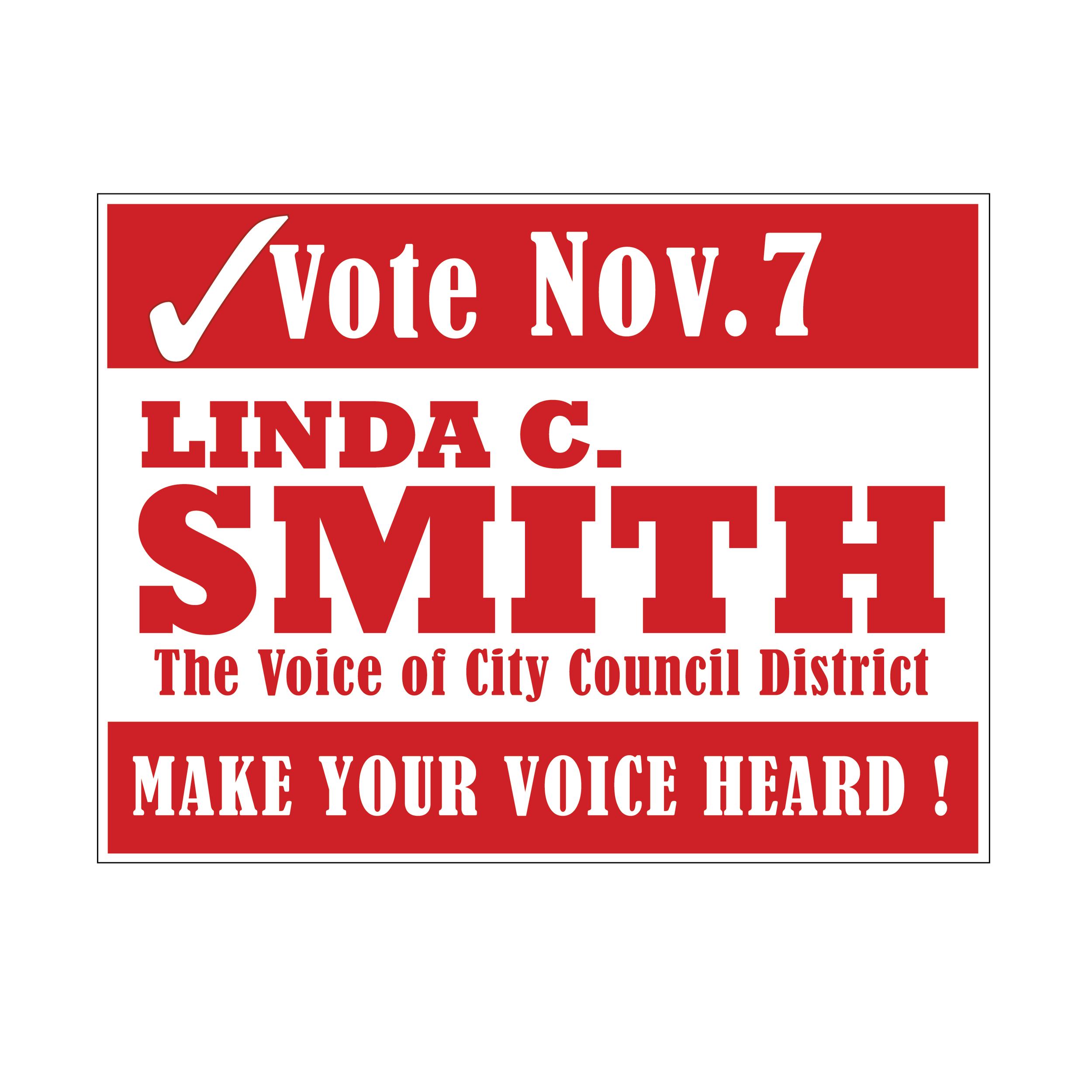 Campaign Signage