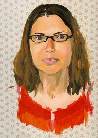 Portrait by Claire Pasquier
