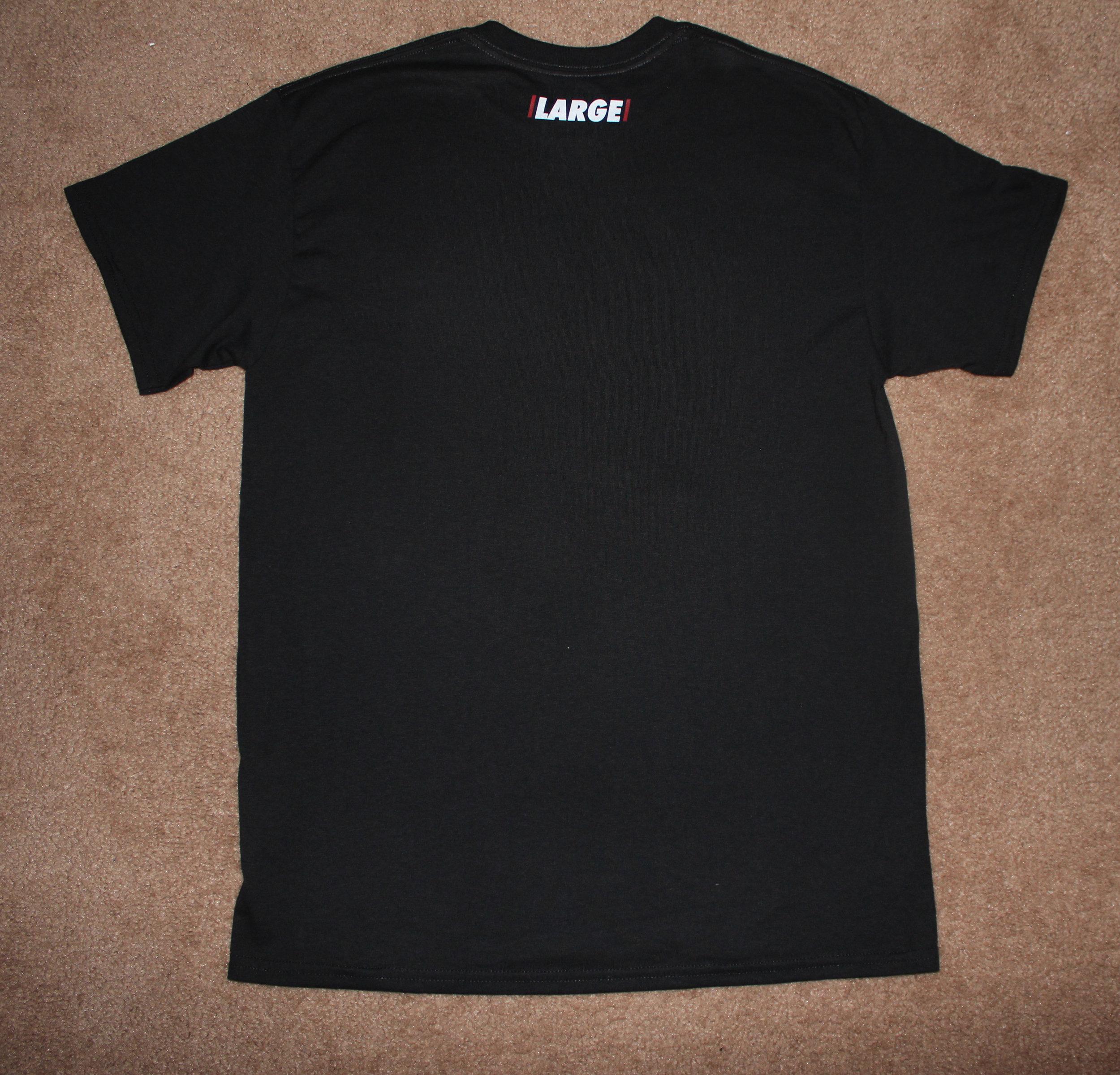 Back, LARGE Logo Tee v2