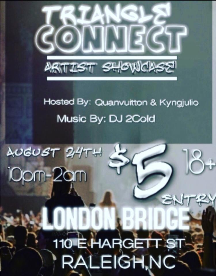 triangle connect artist showcase