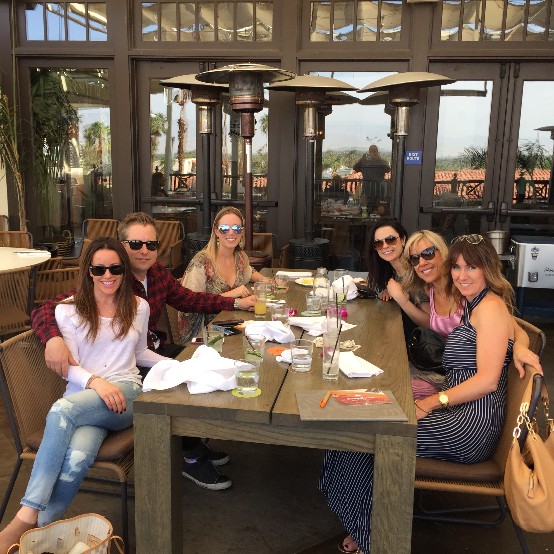 (L-R) Carmen, Brad, Brenna, Phaedra, Marina & Michelle