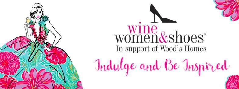 women wine shoes charity event calgary