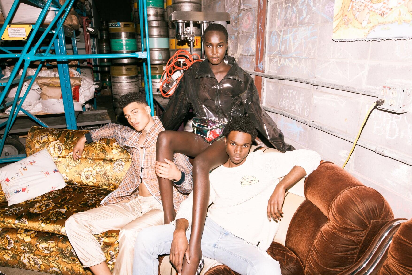 FREQ Magazine  Clothing: Fendi (Holt Renfrew)  Photographer: Jared B  Models: Sasha, Nya & Ryan