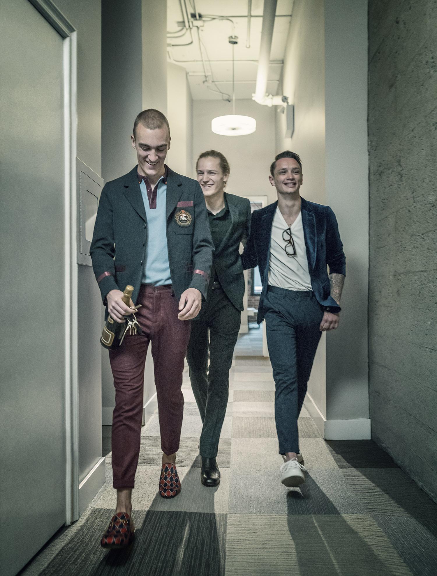 FREQ Magazine  Clothing: Holt Renfrew  Photographer: Gerard Yunker  Talent: Mode Models