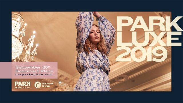 PARKLUXE 2019 Ticket code