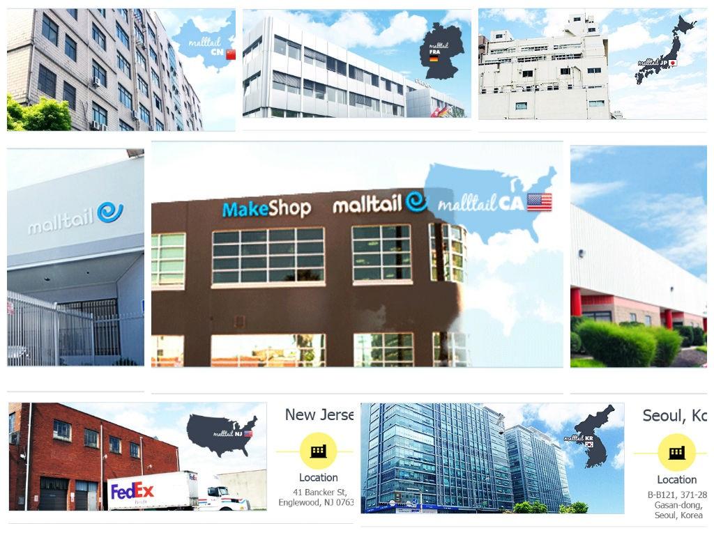 Global Malltail Centers Around