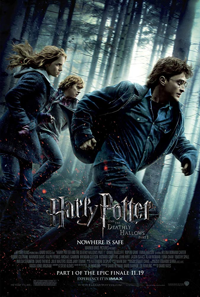 As Harry, Ron and Hermione race against time and evil to destroy the Horcruxes, they uncover the existence of the three most powerful objects in the wizarding world: the Deathly Hallows.