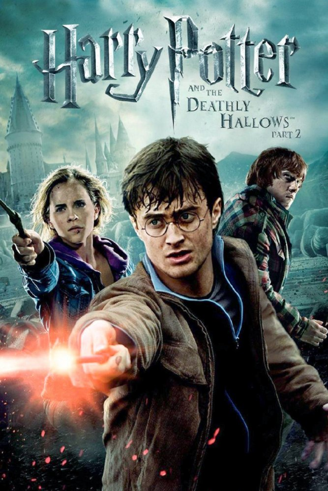 Harry, Ron, and Hermione search for Voldemort's remaining Horcruxes in their effort to destroy the Dark Lord as the final battle rages on at Hogwarts.