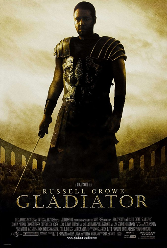 A former Roman General sets out to exact vengeance against the corrupt emperor who murdered his family and sent him into slavery.