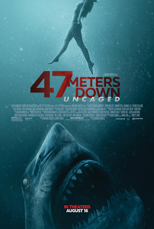47 METERS DOWN: UNCAGED (PG-13)  12:30   2:45   5:00   7:15   9:30  Monster / Thriller - 1h 29m