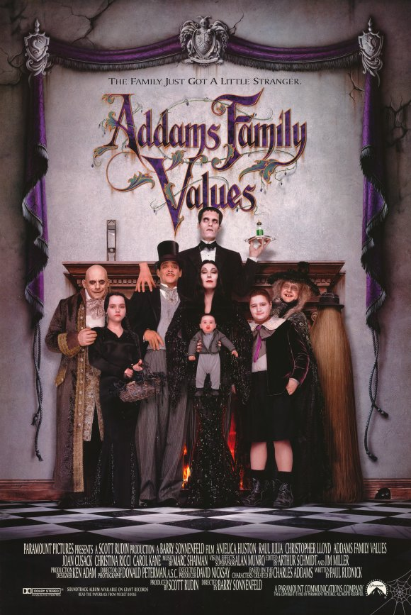 The Addams Family try to rescue their beloved uncle Fester from his gold-digging new love, a black widow named Debbie.