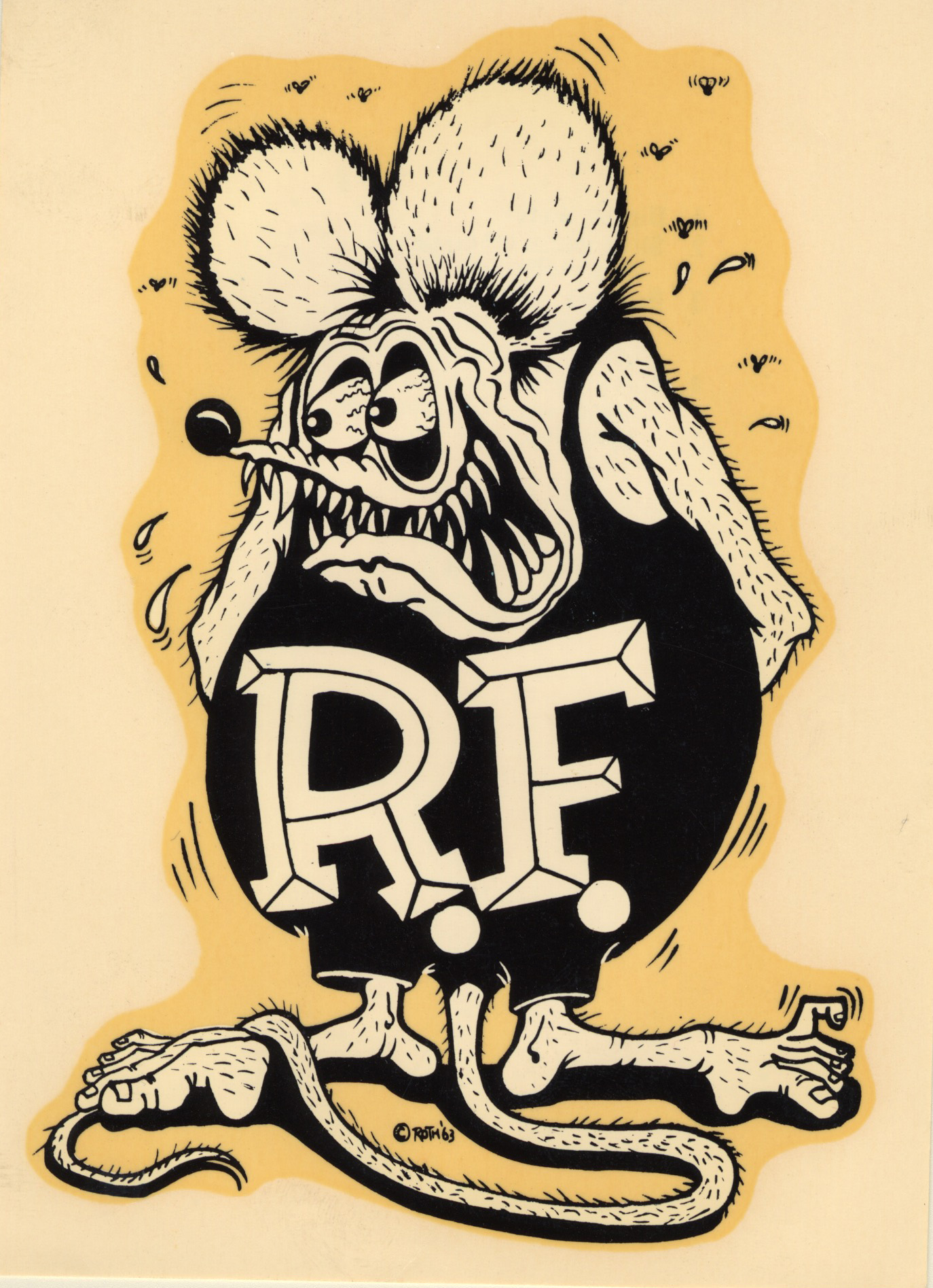Ed Big Daddy Roth started a phenomenom in the 70's with monster decals.