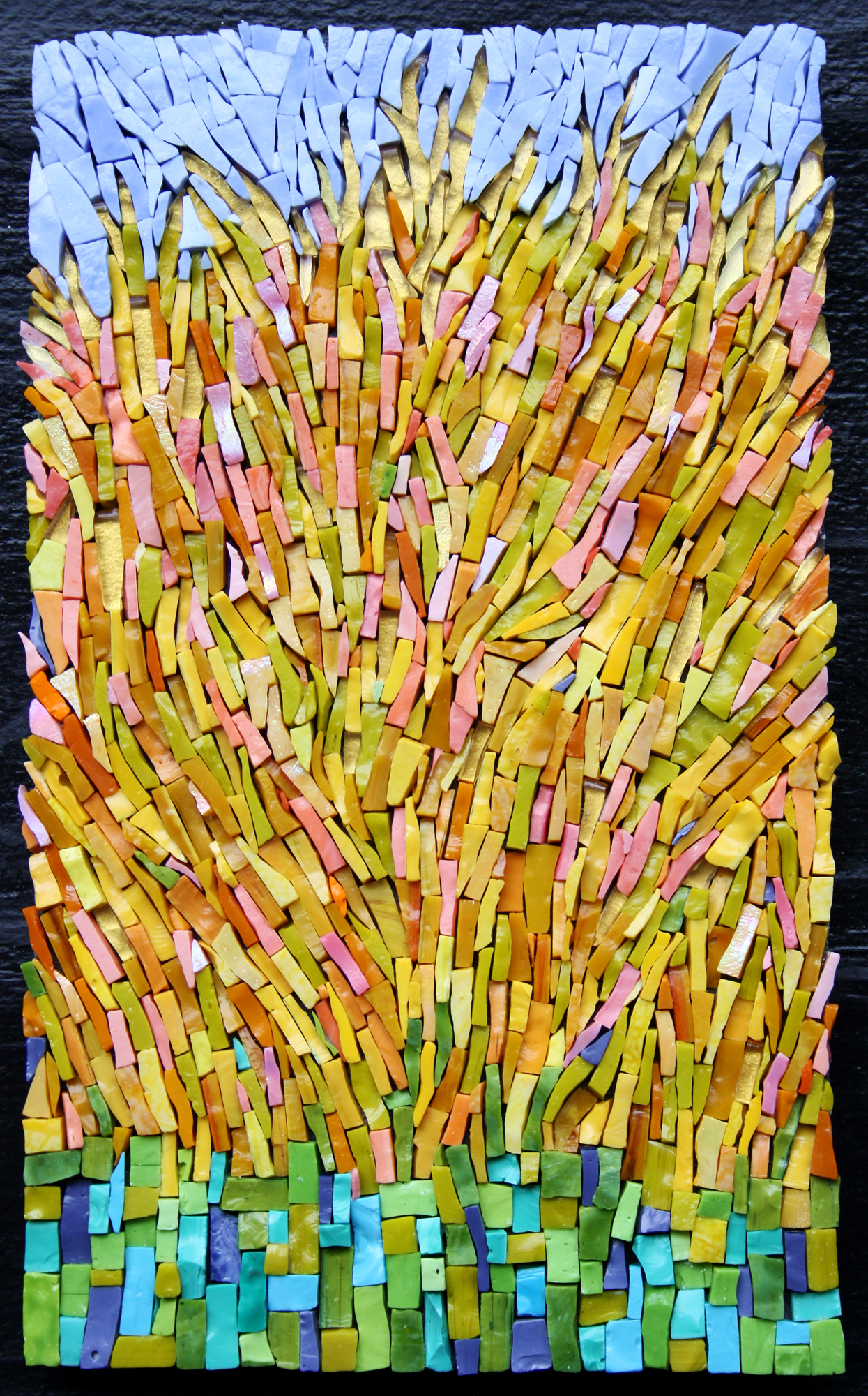 Haystacks (After Van Gogh)