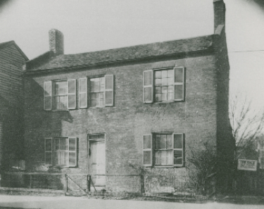 William was held in a slave jail like this one on Short Street prior to being sold by the Todds in 1849.