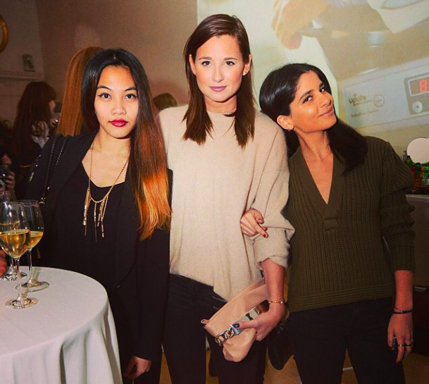 VOGUE PROMOS INSTAGRAMMED ME WITH TWO FAMOUS BLOGGERS.
