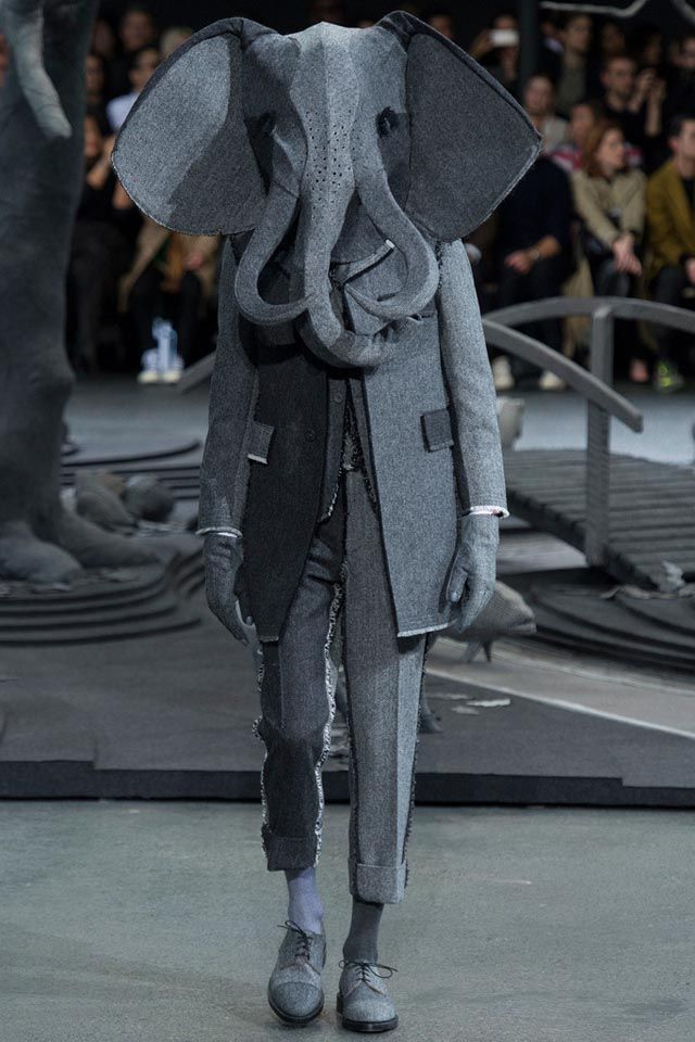 Thom Browne.  One of my favorite shows by him, for sure.  More  here