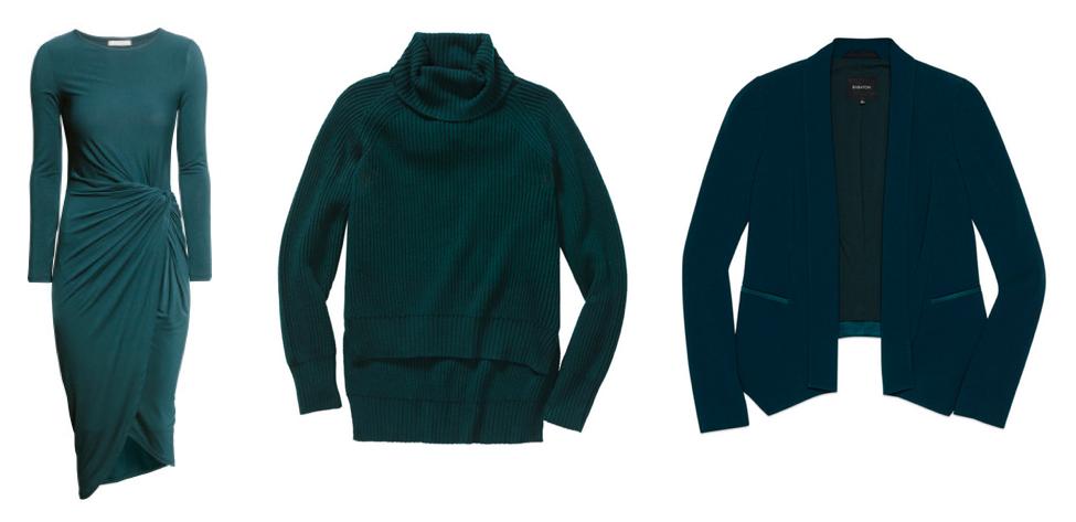 dress , sweater , blazer .