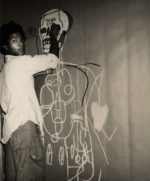 Third Eye by Basquiat.  via