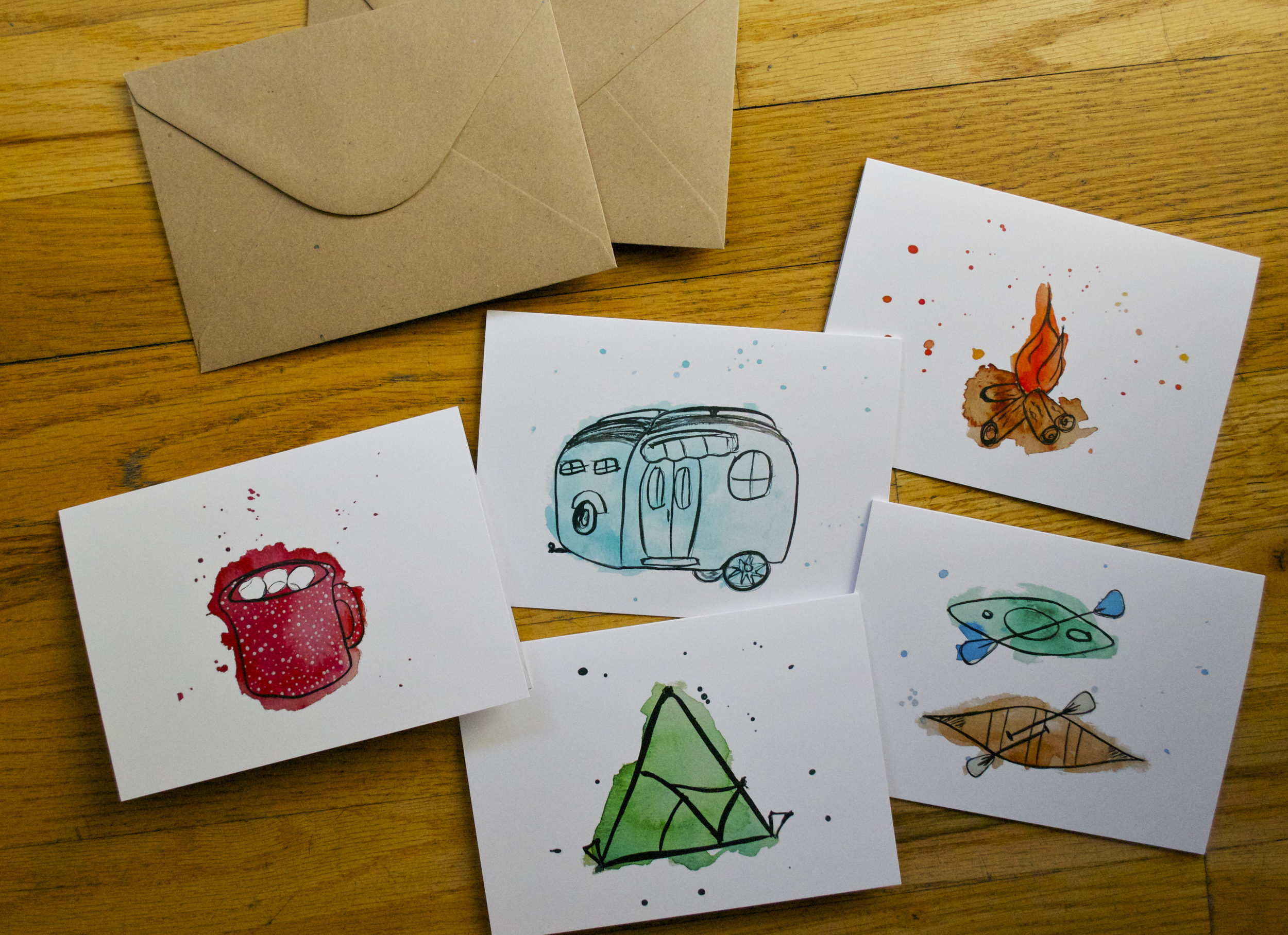 Outdoor Adventures Card Set