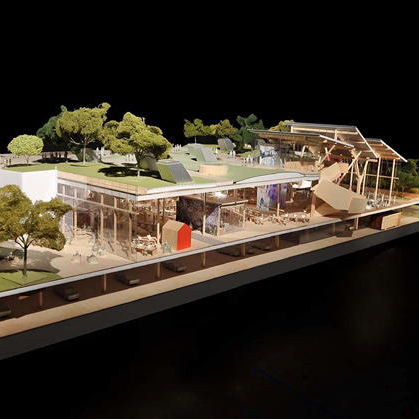 Frank Gehry's proposal for Facebook campus