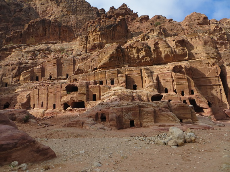 Petra Cave Dwellings (  Image source  )