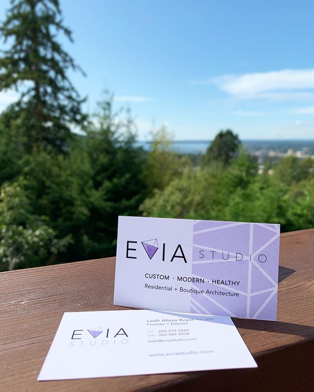 Made some emergency business cards for networking events up in Bellingham because I'm a terrible business owner and haven't made real cards yet, ahhh!  For last a minute, same-day design and printing job, these didn't turn out too bad 😊💜😆