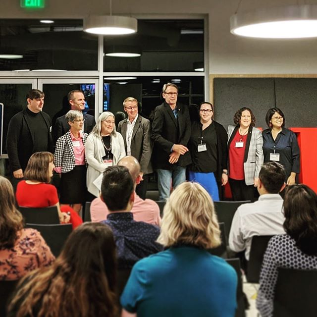 Looking forward to serving as AIA Silicon Valley's Treasurer next year, planning strategically for growing success of our chapter. Thank you @oneworkplace for hosting this great event in your beautiful showroom! And thank you @aiasiliconvalley for continuing to support leadership growth in EPs and young architects like me. ❤️ #aia #leadership #treasurer