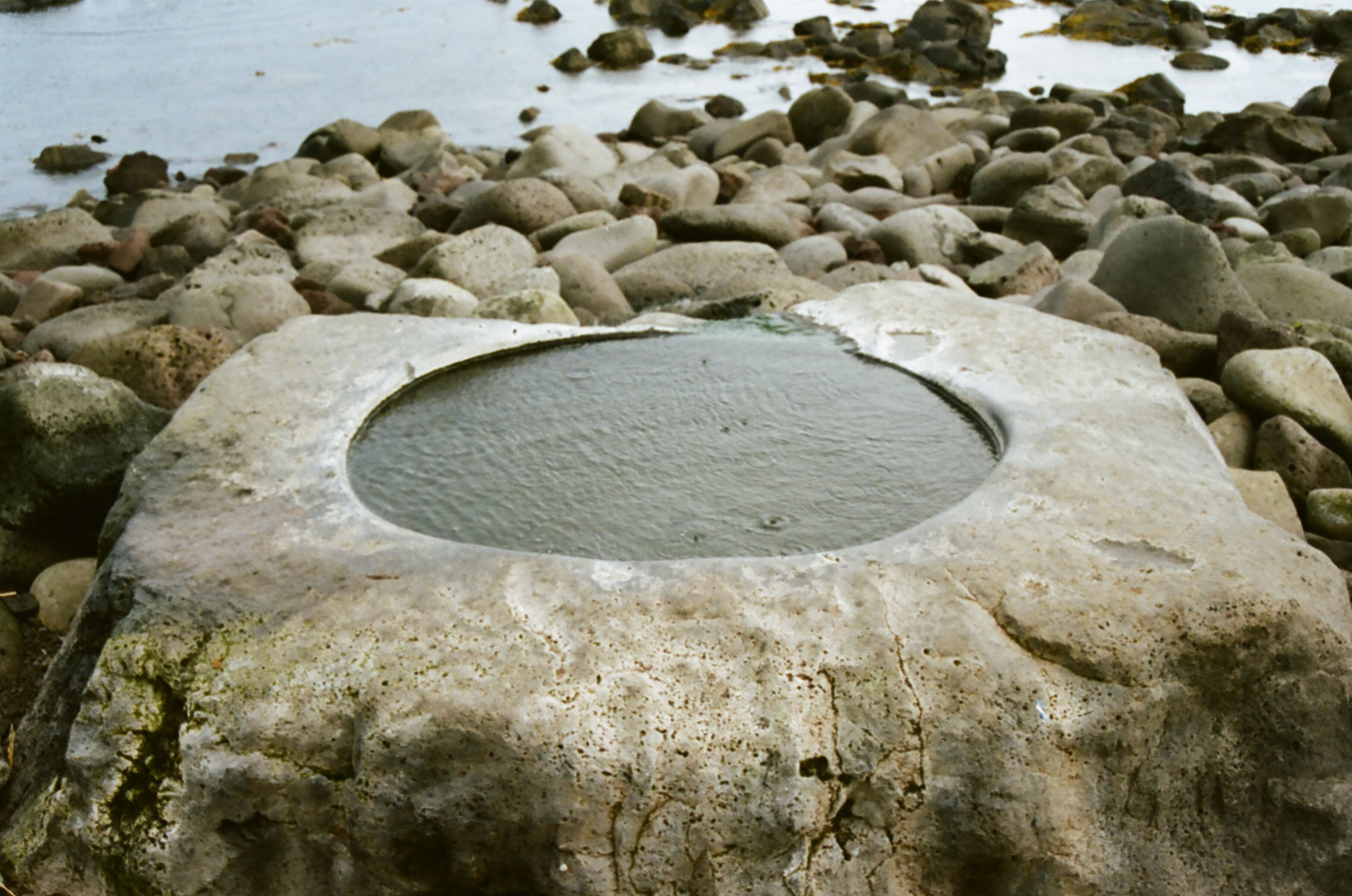 Kvika (foothbath) Hotspring
