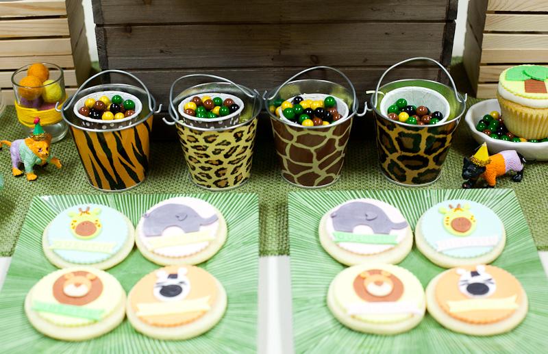 Safari Theme First Birthday Dohl Party Custom Animal Cookies.jpg