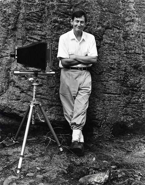 John Yang, 1985, Harriman State Park, New York photo by John Senzer