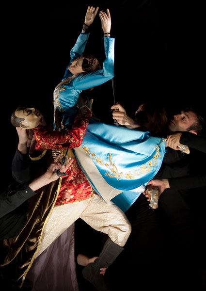 Stravinsky's ballet re-imagined with puppetry, modern dance, and full orchestra.