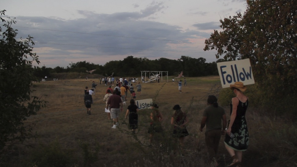 Multi-year community collaborations in a repurposed Texas gun-range.