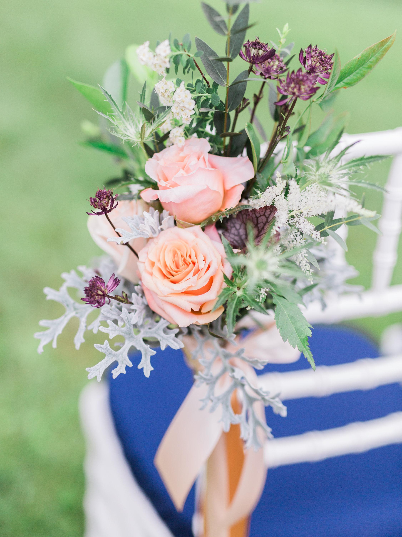 Aisle Marker Flowers
