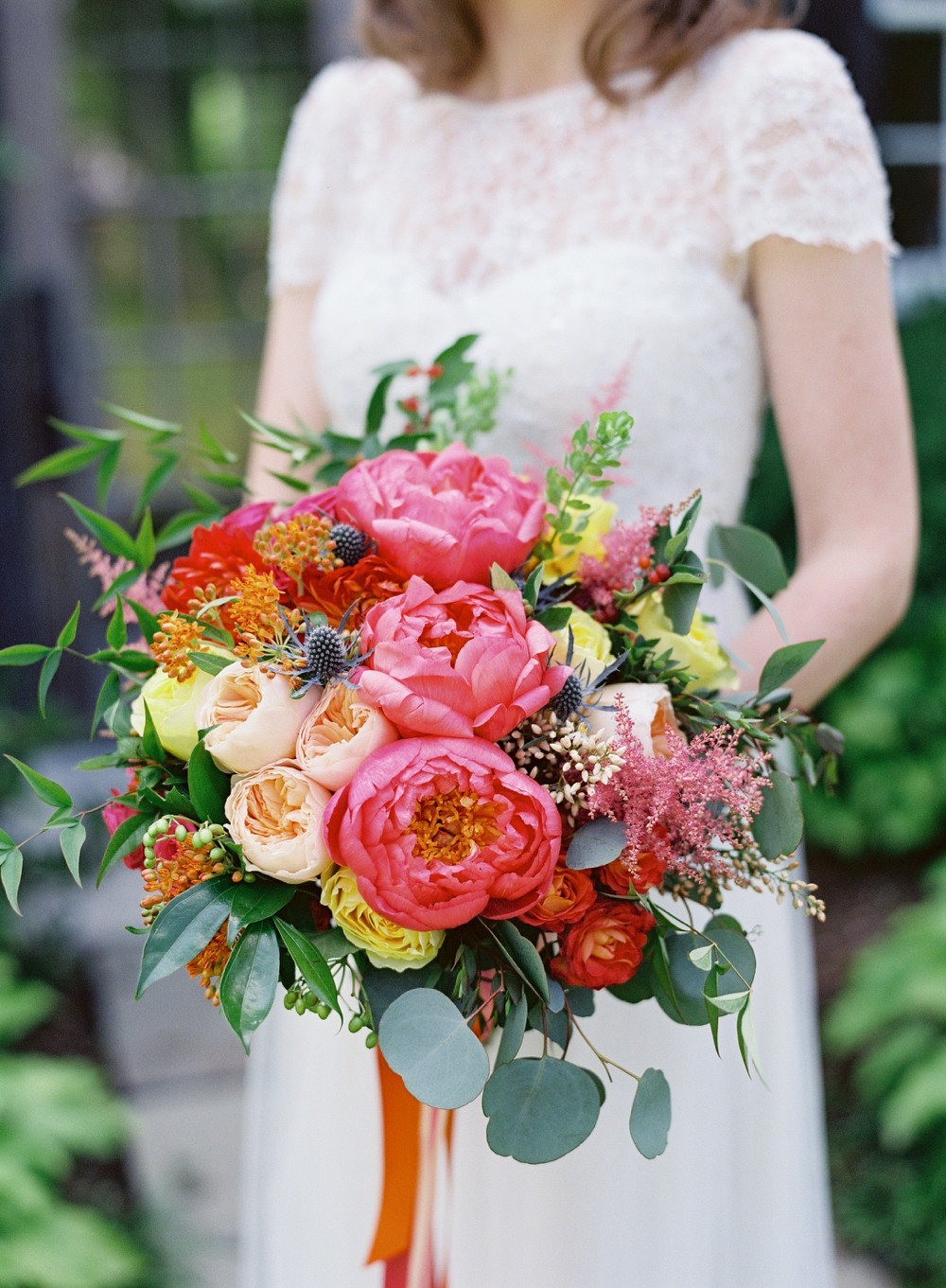 Intimate Wedding at Clyde's Willow Creek Farm   Vicki Grafton Photography