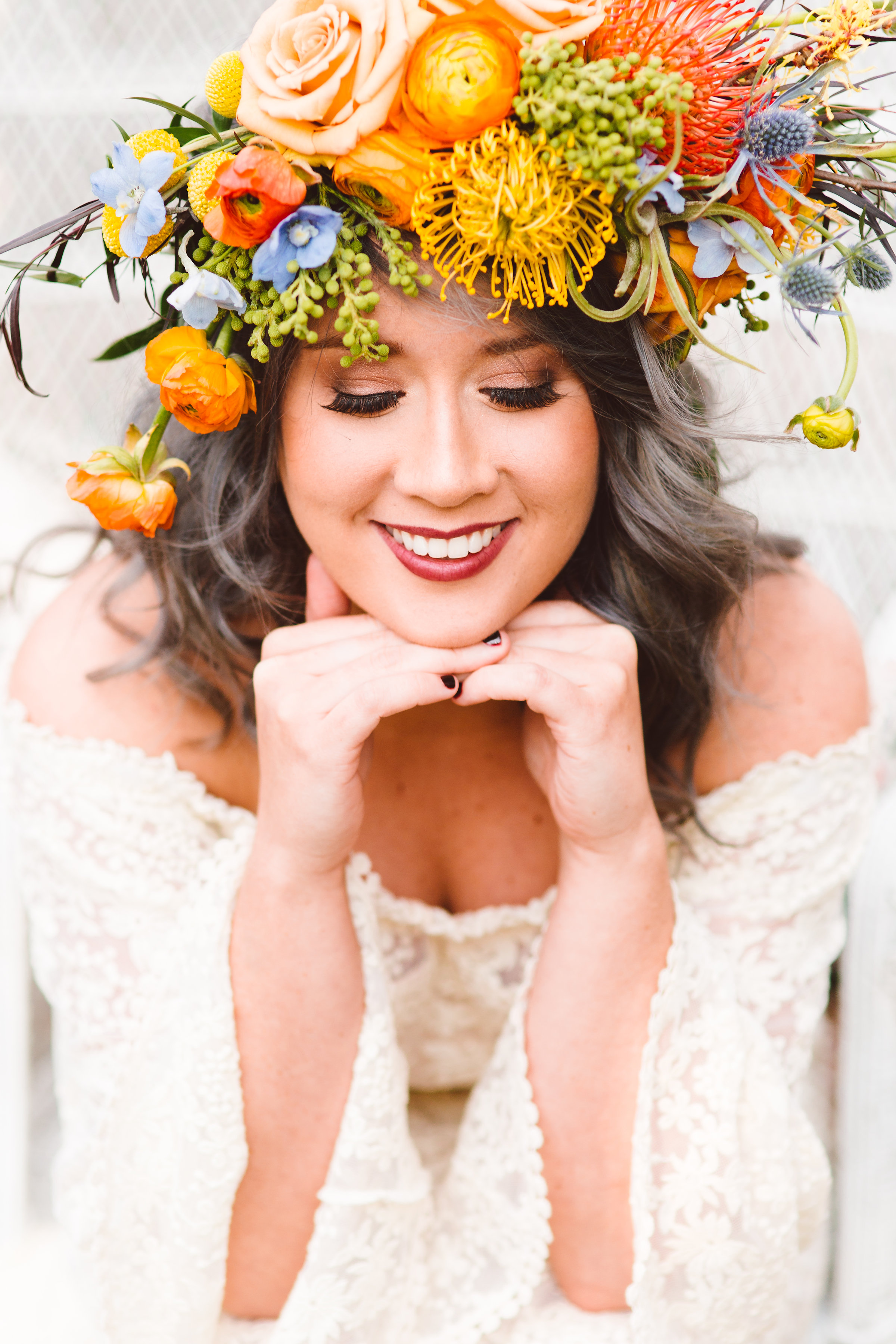 Boho Bride at London Town and Garden   Brooke Michelle Photography