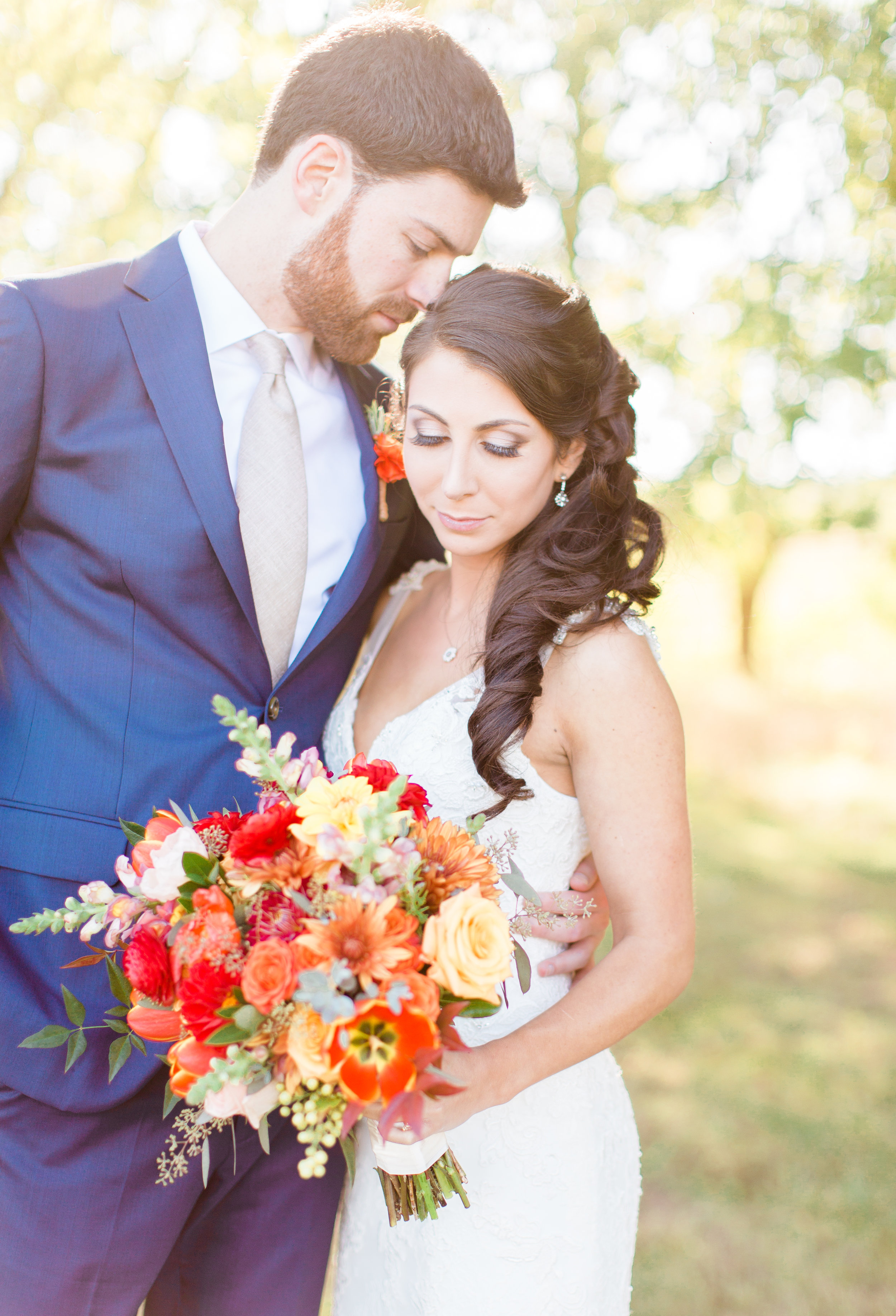 Fall Wedding at Riverside on the Potomac   Photos by Sarah Beth