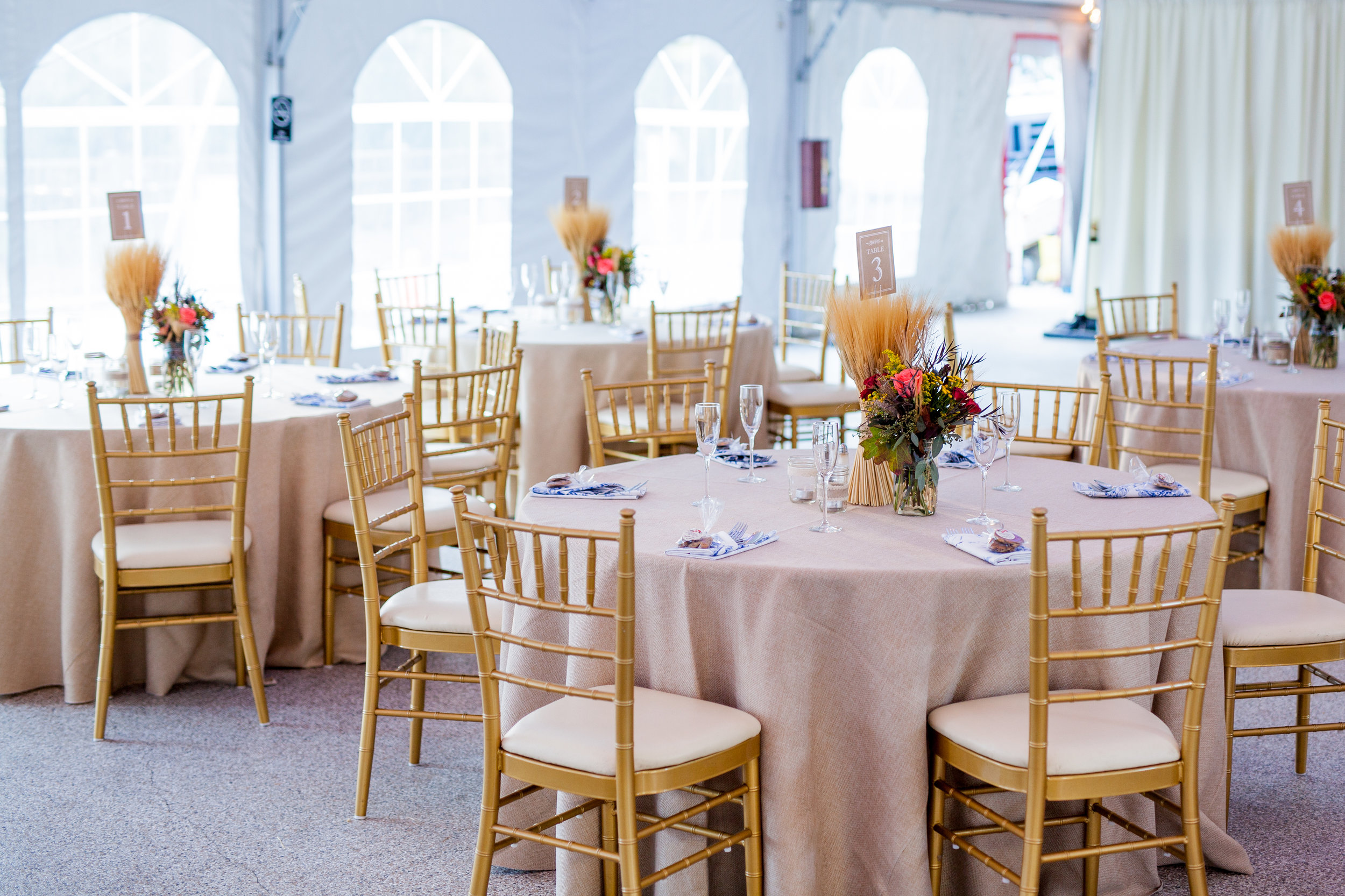 Fall wedding at Rust Manor