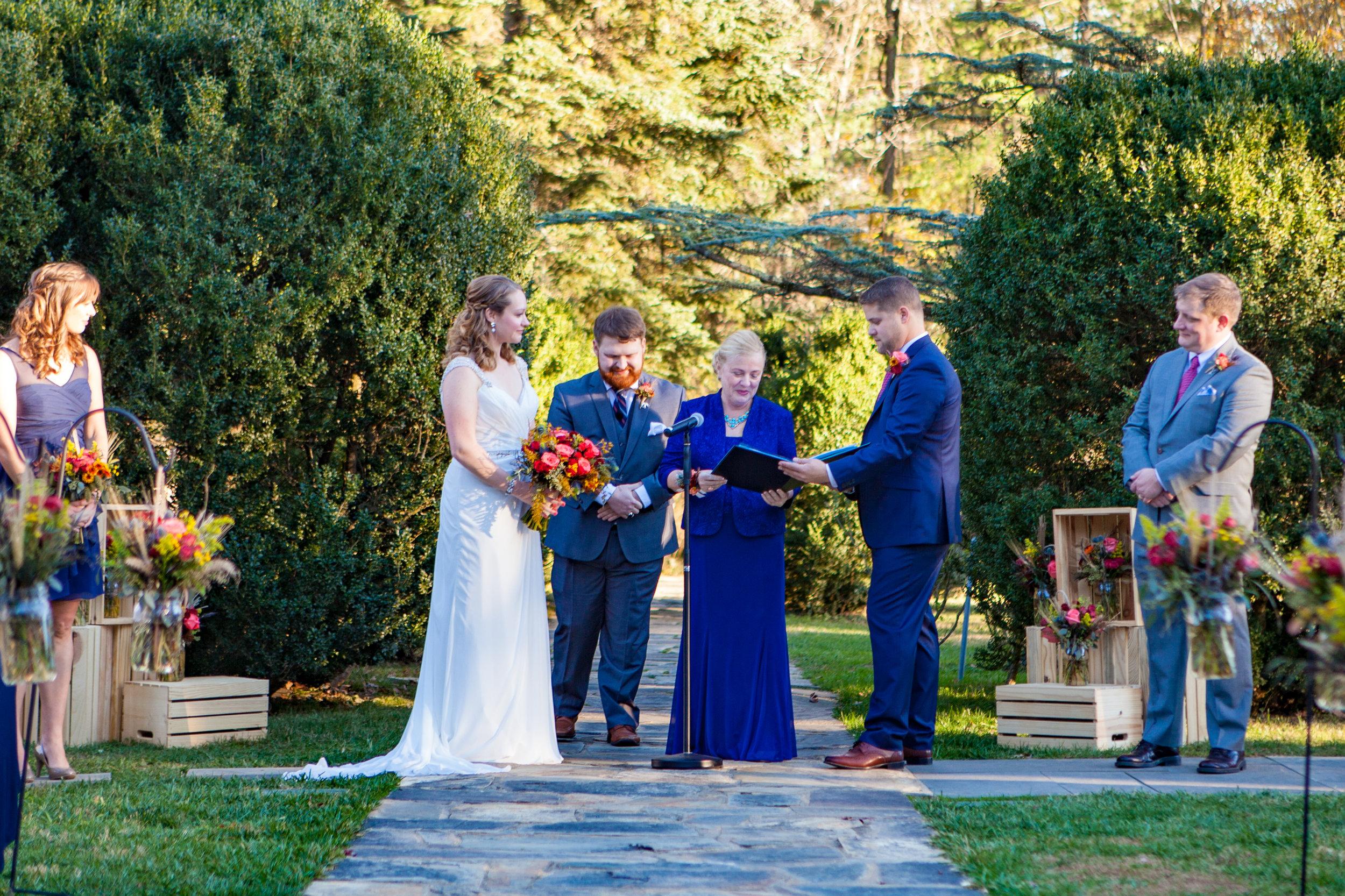 Wedding at Rust Manor